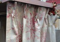 ピンクのカーテンレールが登場♪