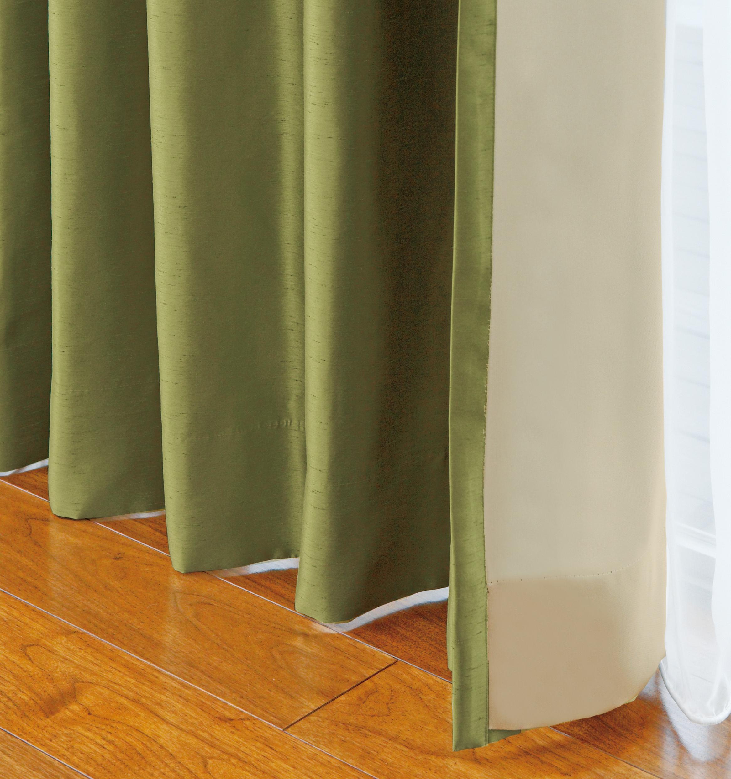 """省エネ効果も!裏地付きカーテンは""""冬""""以降でもオススメです。"""