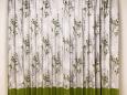 流山市 T様邸 裾ボーダーのカーテン