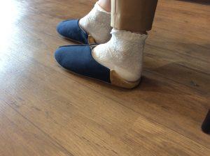 足をゆったり快適に👣バブーシュのご紹介