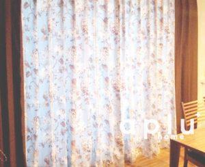 江戸川区 S様邸 サイドフレームスタイルのカーテン