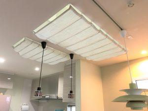 天窓からの冷気を防ぐ!防寒にカーテンを設置!