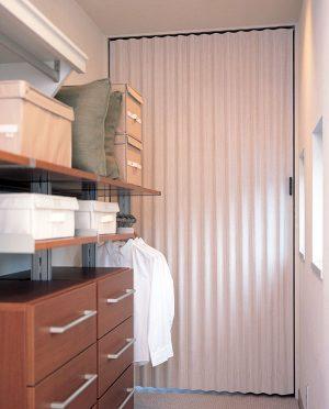 【やまなみ マークⅡ】アコーディオンドアは介護保険制度「住宅改修費」対象品!