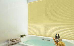 【セレーノ 浴室窓タイプ】お風呂にもブラインドは付けられるんです!